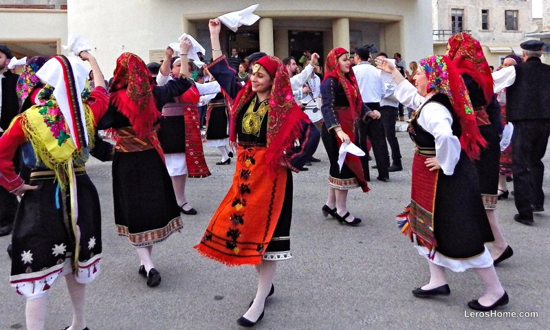 traditional dance troupe, Leros