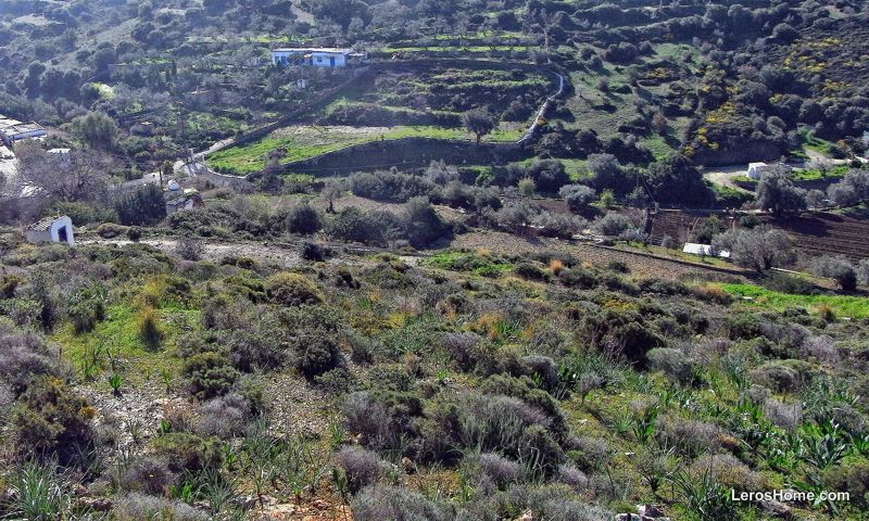 land for sale in Rachi, Leros